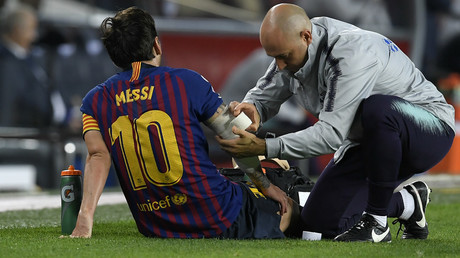 Messi injury woe: Barcelona star to miss El Clasico after fracturing arm
