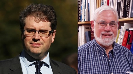MIT professor accuses Bellingcat's Higgins of enabling war criminals to walk free in Syria (VIDEO)