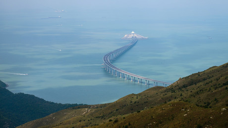 China set to open world's longest sea bridge to Hong Kong & Macau