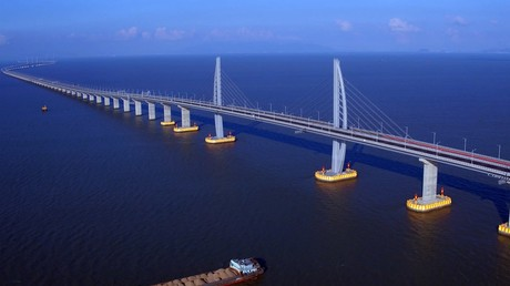 First cross-border mega highway bridge between Russia & China to open for traffic in November