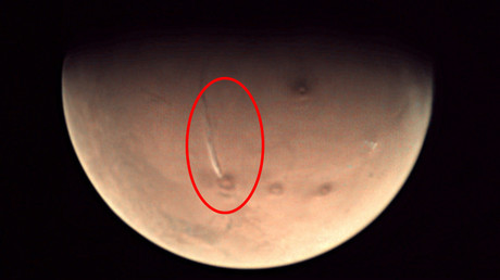 'NASA is hiding life on Mars': Here's what's really going on in red planet 'explosion' IMAGES