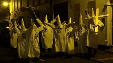 Group dressed as KKK members near Islamic centre sparks N. Ireland hate crime probe