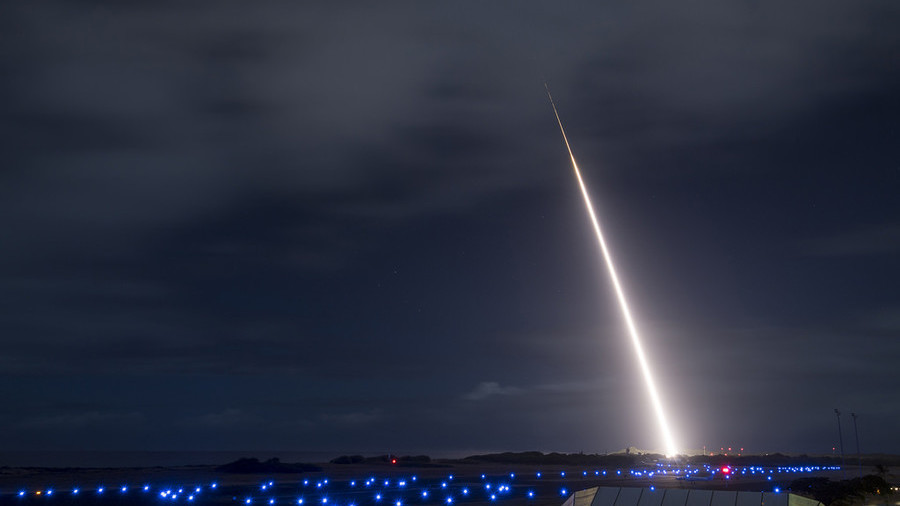 US touts interception of a medium-range ballistic missile it should not have (VIDEO)
