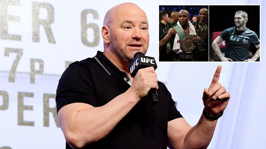 Dana Talks With Floyd For Khabib Fight