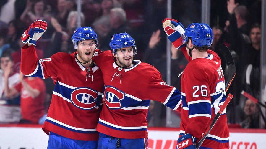 2 goals in 2 seconds: Montreal Canadiens break 80-year NHL record (VIDEO)