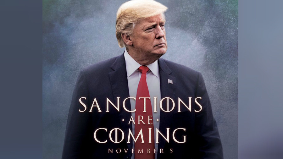 'Sanctions are coming': Trump's Game of Thrones Iran threat unleashes internet wildfire