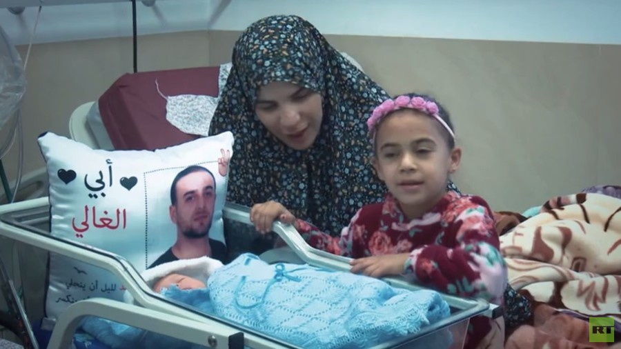 Behind bars: Palestinian babies born using smuggled sperm of imprisoned fathers