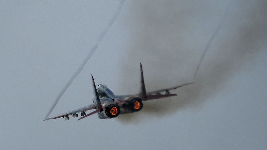 Russian-made MiG fighter jet crashes in Egypt, triggering joint probe