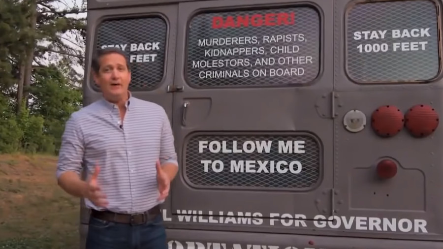 From dumpster fires to deportation buses: The midterms' craziest campaign ads