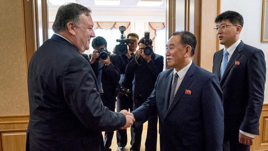 Pompeo says to meet with senior DPRK official