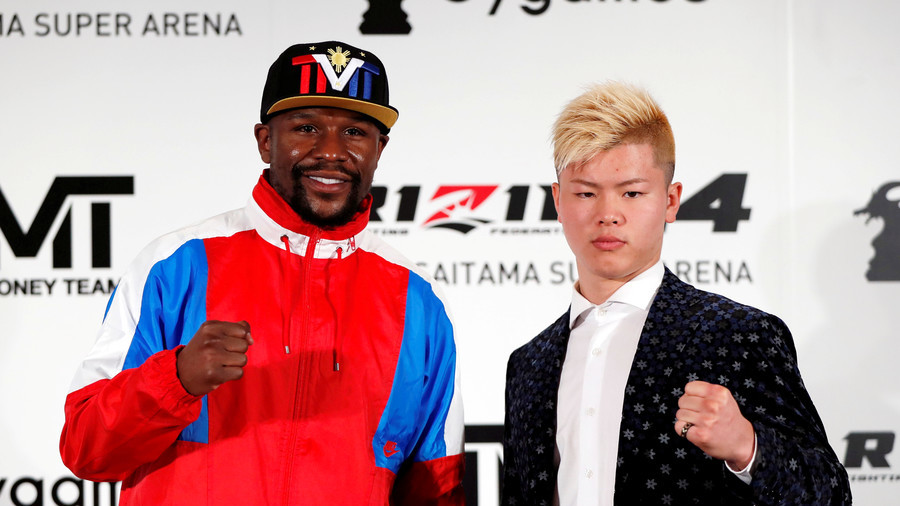 Floyd Mayweather Jr. announces NYE fight with Japanese MMA promotion Rizin