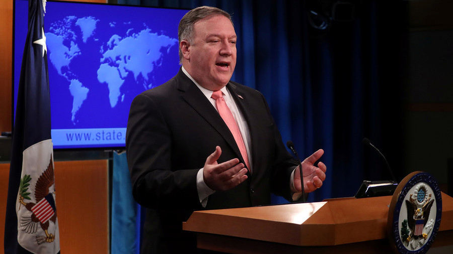 Pompeo warns of 'severe, swift punishment' & 'painful business' with Iran as sanctions reinstated