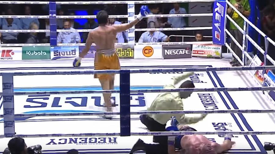 Muay Thai legend dies after brutal KO in WBC title fight (VIDEO)