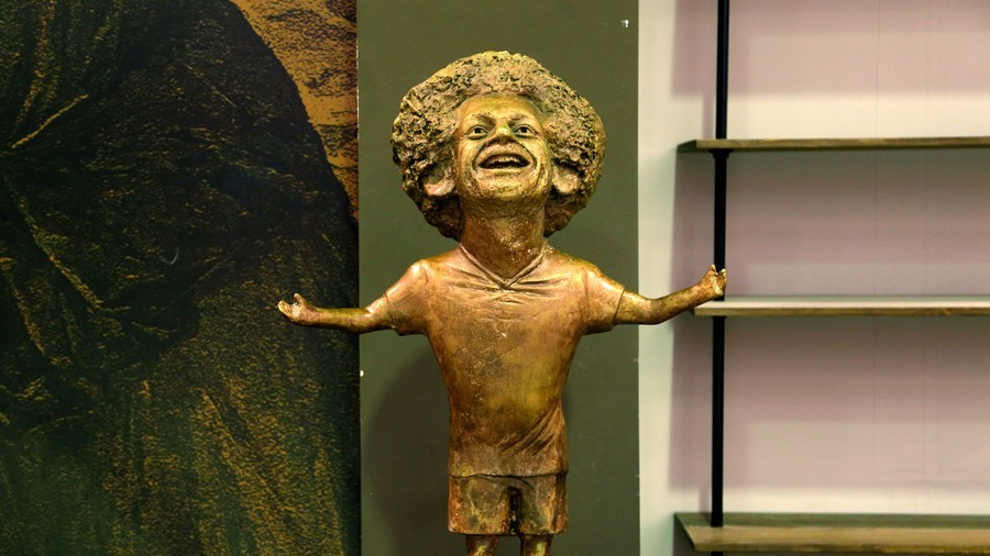 'I put great effort into my work' - Salah statue artist defends ridiculed sculpture (VIDEO/PHOTOS)