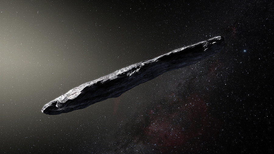 Was mysterious object spotted in space an alien probe?