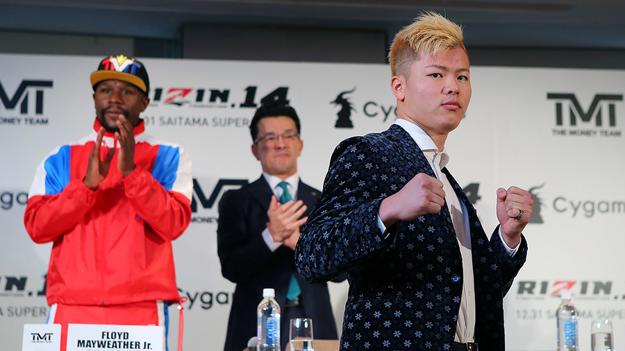 7 things you need to know about Tenshin Nasukawa, Floyd Mayweather's next challenger