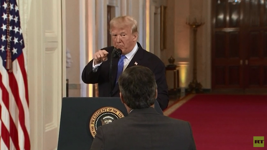 Donald Trump Viciously Attacks CNN Reporter Jim Acosta