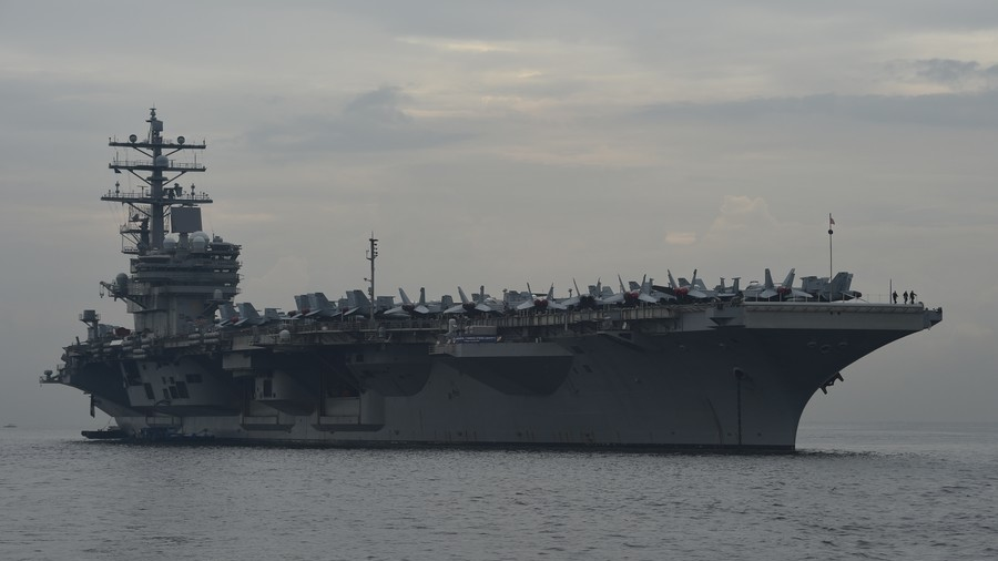 Navy disciplines sailors for LSD ring aboard nuclear-powered aircraft carrier