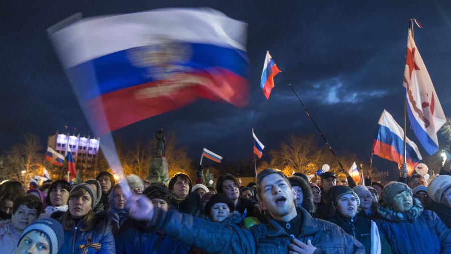Trump blames Obama 'regime' for giving Crimea to Russia