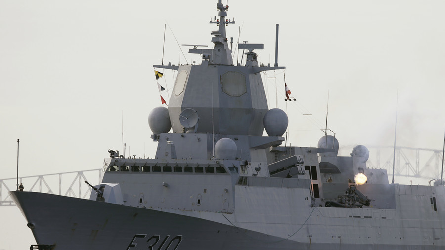 Norwegian frigate evacuated after being hit by tanker