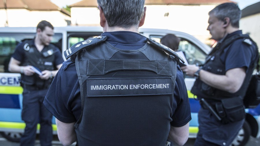 Border Force discovers 11 children inside refrigerated lorry at UK port