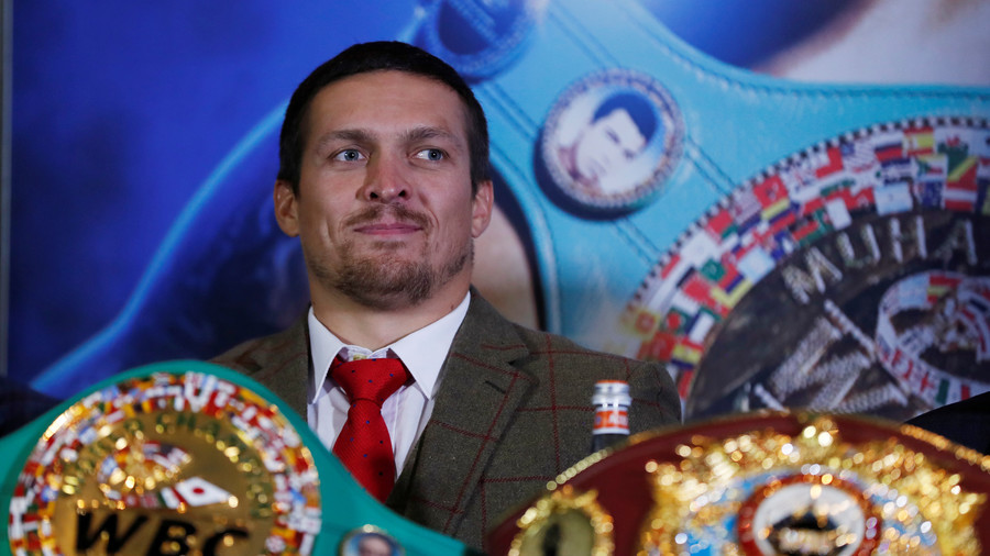 Oleksandr Usyk chasing Anthony Joshua showdown, says promoter