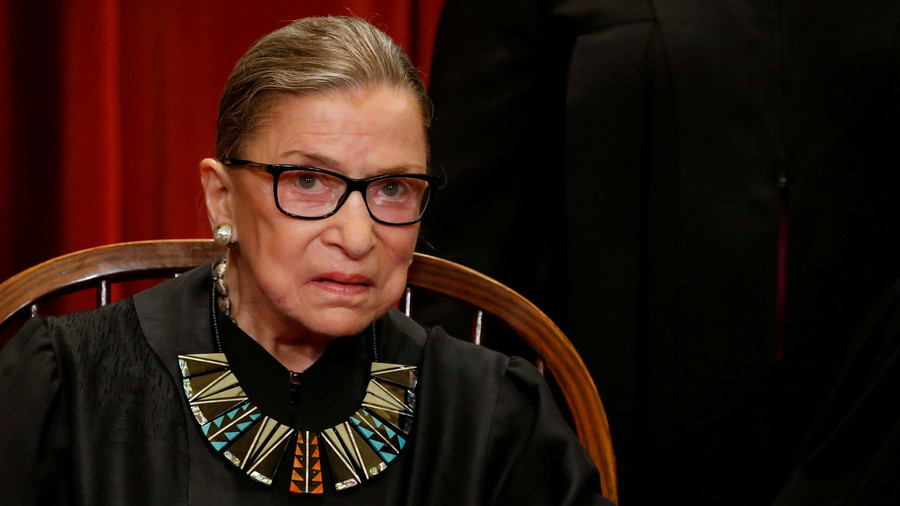 Justice Ruth Bader Ginsburg hospitalized after breaking three ribs in a fall