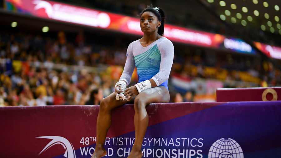 'Biles not as strong as before': Russian coach says her gymnasts are ready to take on the world