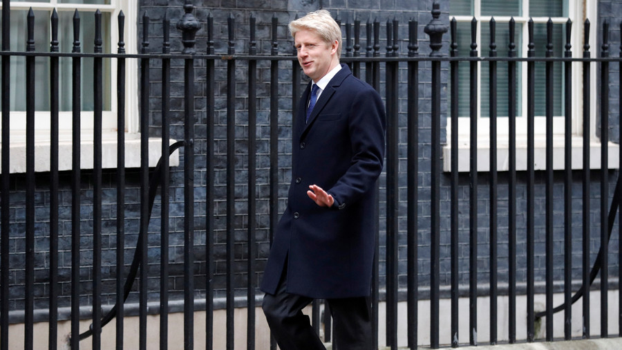 Transport minister Jo Johnson quits UK government, calls Brexit divorce deal a terrible mistake