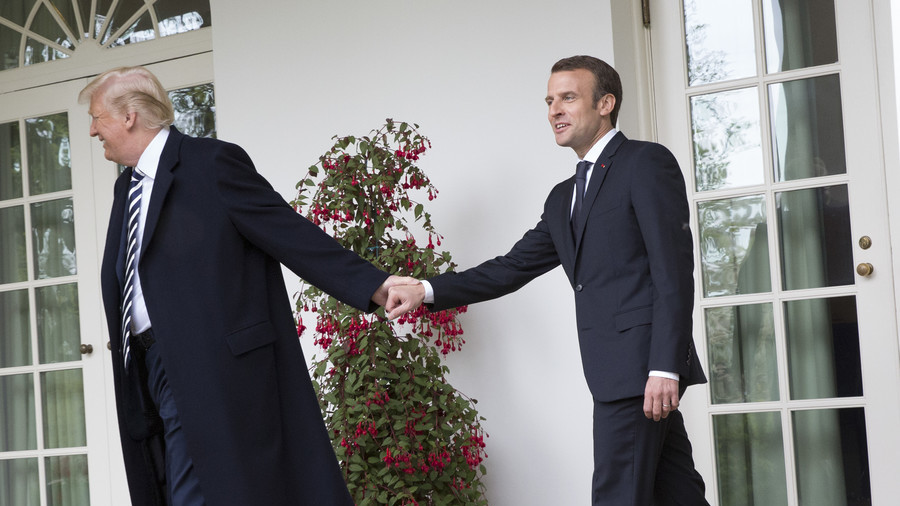 Trump rips Macron for proposing new European Union  army to defend against US