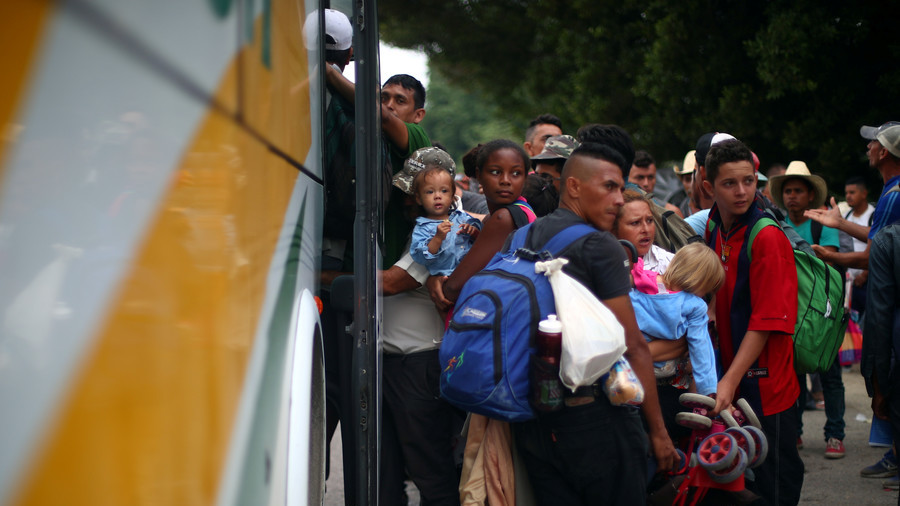 UN turns down caravan migrants' request for buses to get to US