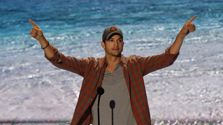 Ashton Kutcher admits he broke gun laws while tweeting about need for gun laws