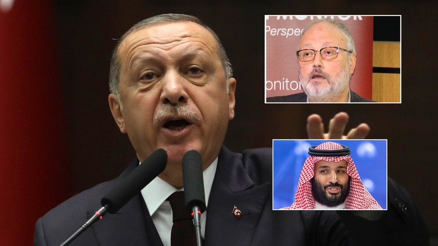 How Khashoggi was killed: Erdogan says chilling audio sent to Saudi Arabia, US, UK, France & Germany