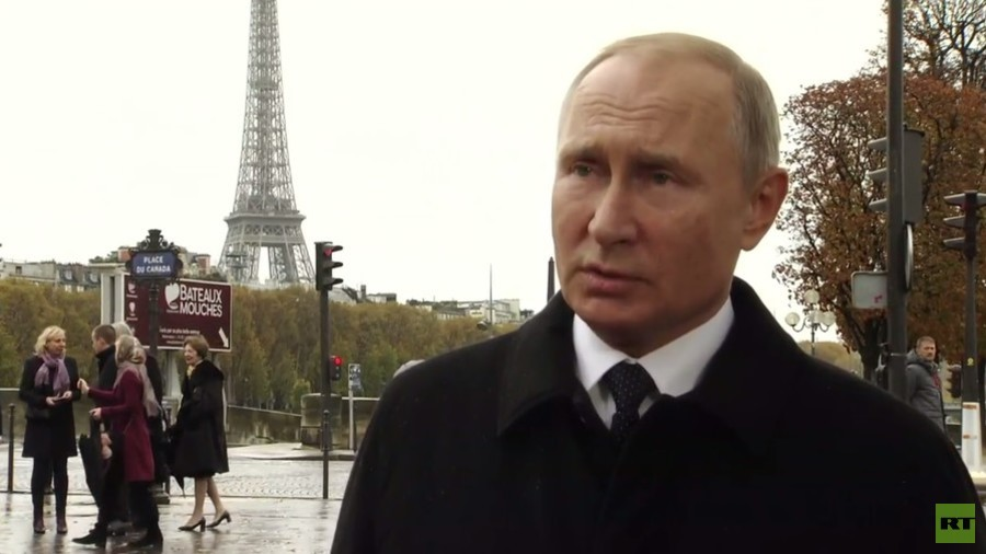 Putin Says Had A Good Conversation With Trump In Paris