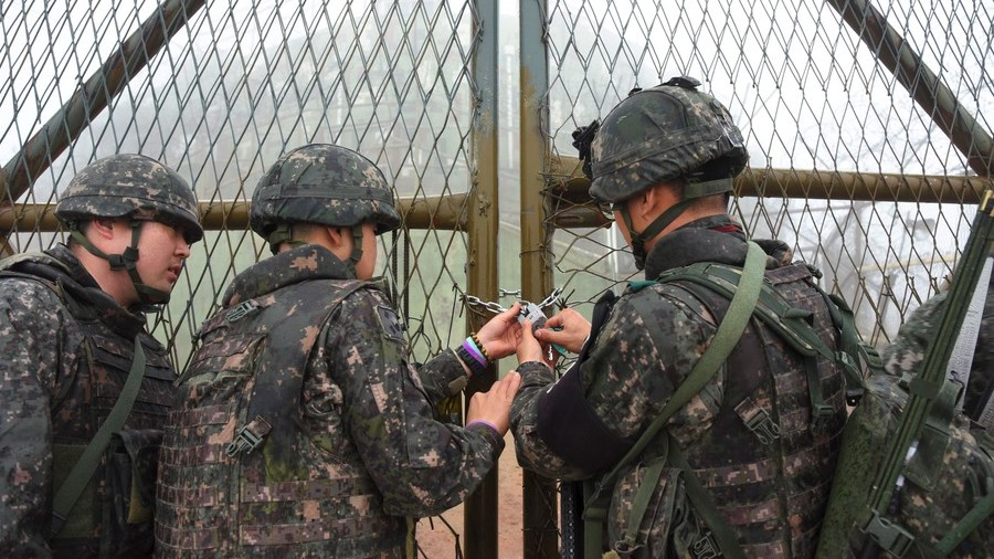 Thaw looming? North and South Korea begin tearing down guard posts at the border