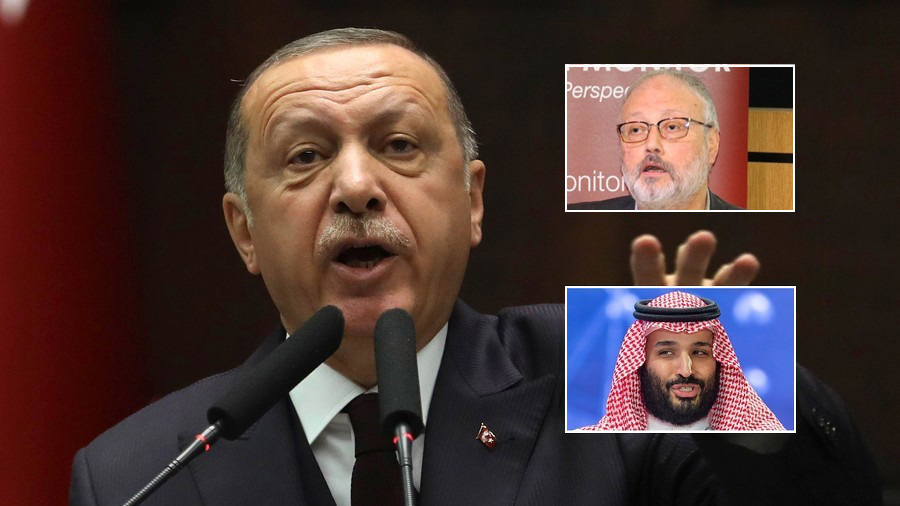 How Khashoggi was killed: Erdogan says chilling audio sent to Saudi Arabia, US, UK, France & Germany