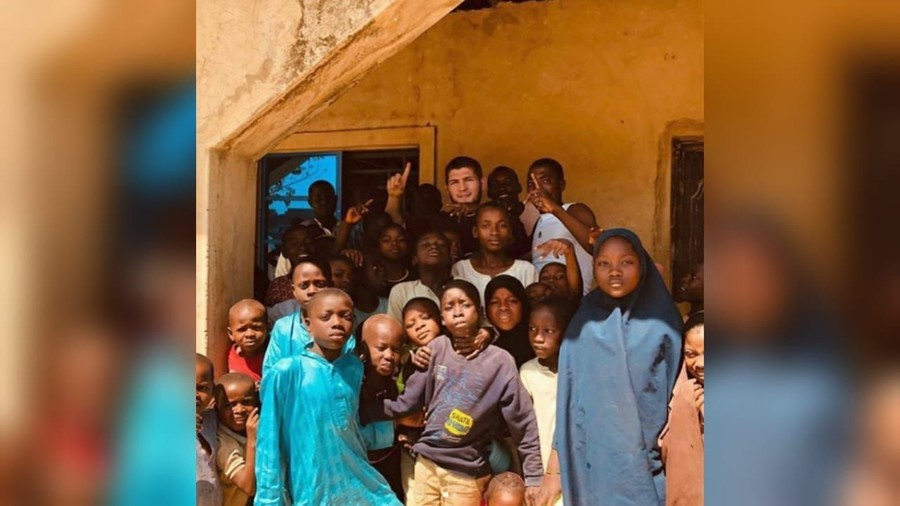 Man on a mission: Khabib heads to Nigeria to repair water supplies, build medical centers