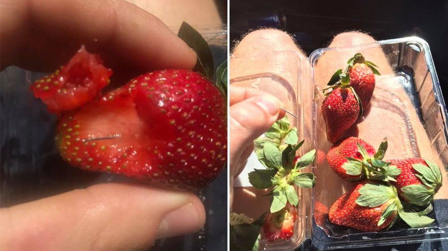 Woman 'who put needles in strawberries' acted out of 'revenge' against Australian ex-boss