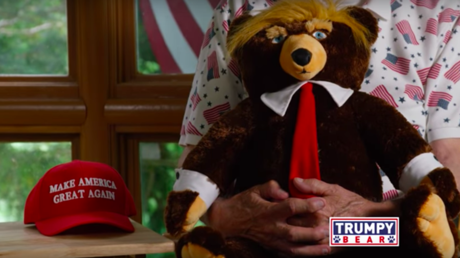 'Trumpy Bear' advert sparks bemusement following airing in US