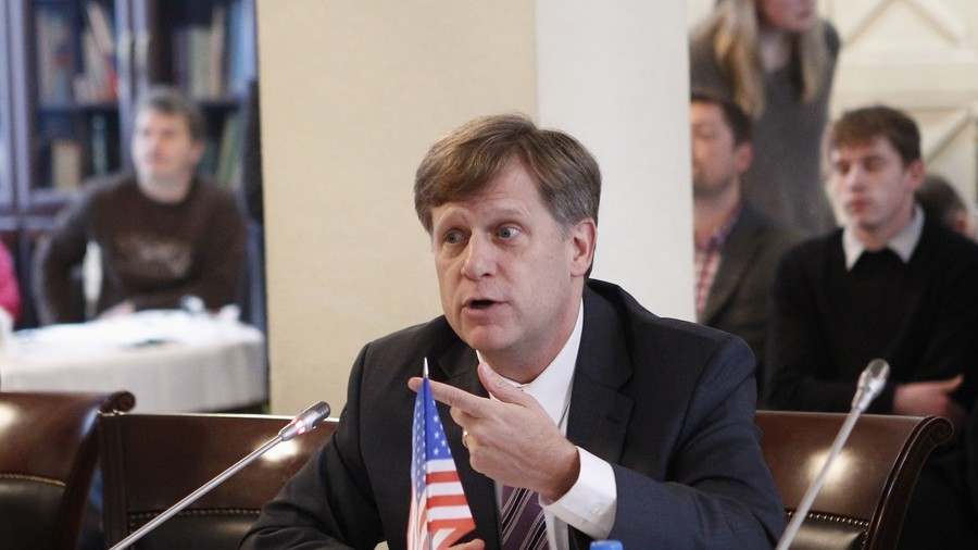 'Well-informed' Stanford Professor McFaul scoffs at idea of checking sources before tweeting