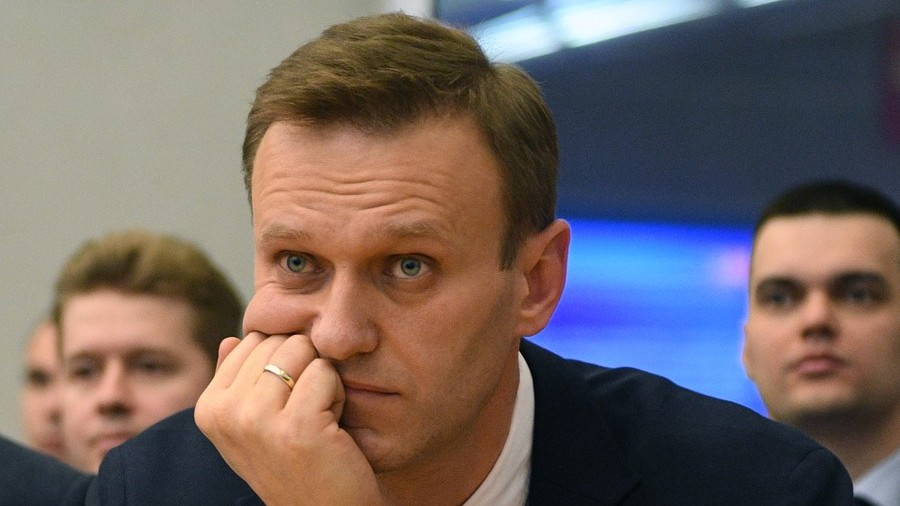 Opposition chief Navalny says barred from leaving Russia