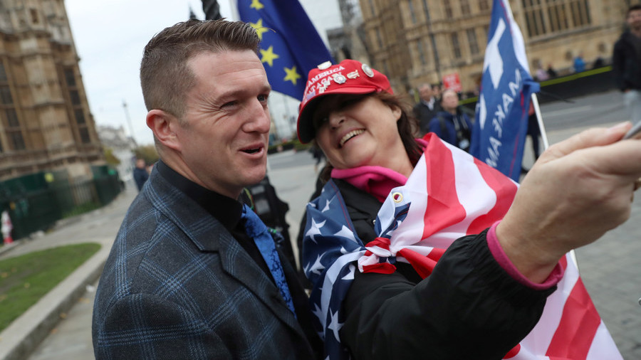 Tommy Robinson refused entry into US to attend Republicans' event on Islam – reports
