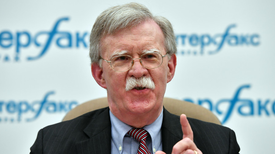 US will squeeze Iran with sanctions 'until the pips squeak' – Bolton