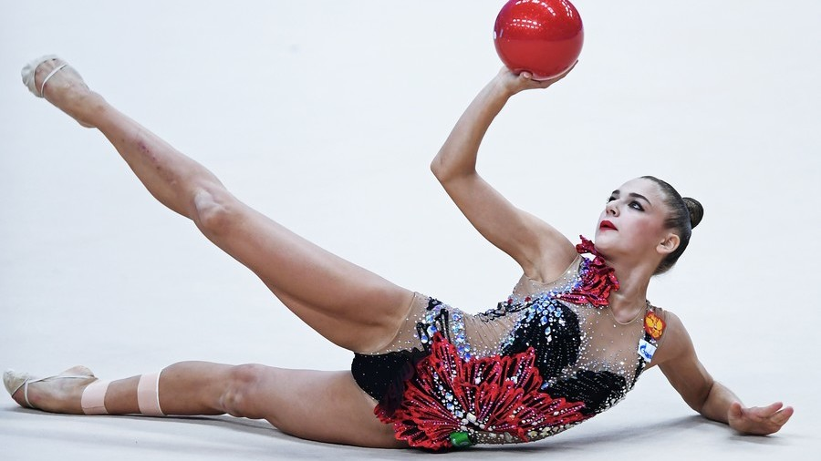 Empire of elegance: The rhythmic gymnasts out to extend