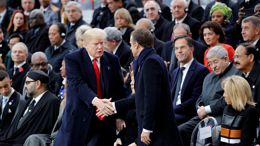 'Did he forget the American Revolution?' Twitter gives Trump a history lesson after France insults
