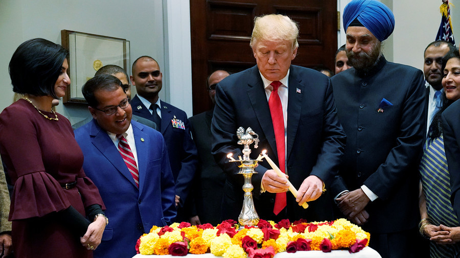 You forgot Hindus… twice: Trump roasted over botched Diwali festival tweets