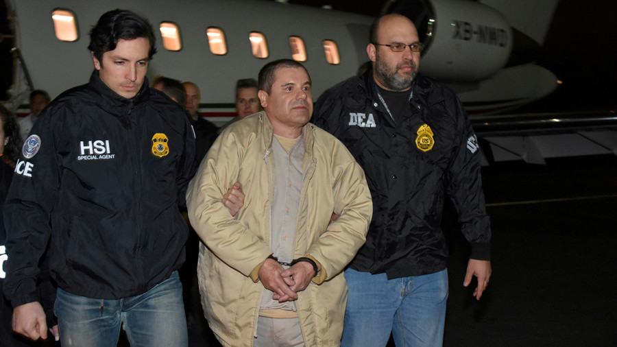 'Scapegoat framed by US & Mexico': El Chapo's lawyer claims real drug lord walks free & bribes govts