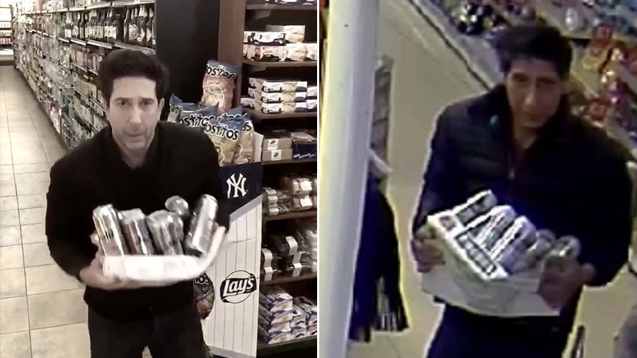 Internet rejoices as police make arrest in hunt for 'beer-stealing' Ross from Friends doppelganger