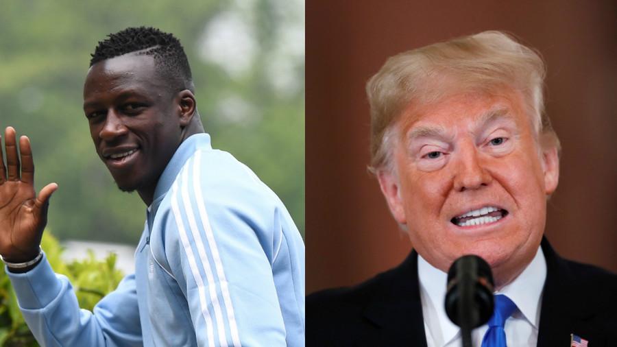World Cup winner Mendy trolls Trump over 'Make France Great Again' tweet