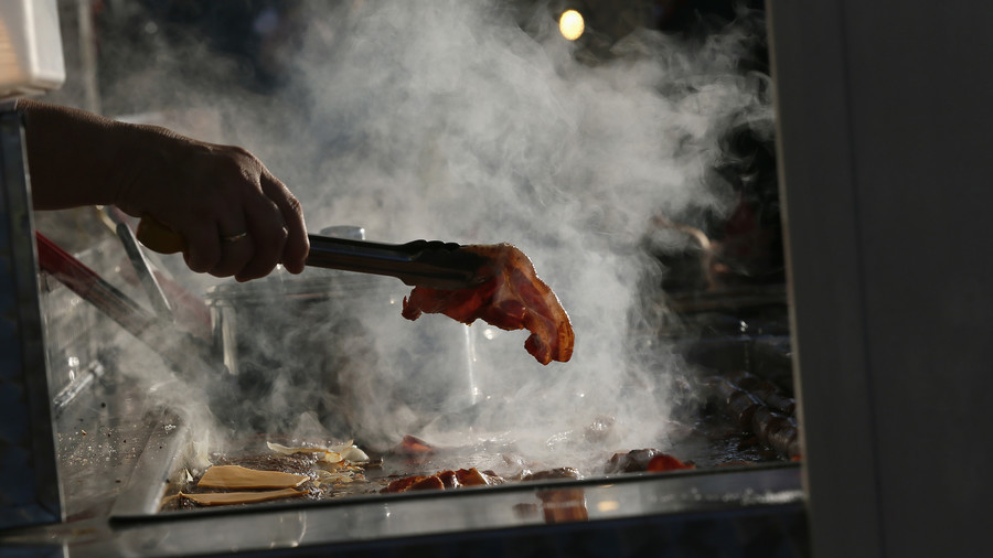 When pigs fly: Norway panics after foreign soldier brings bacon to NATO war games